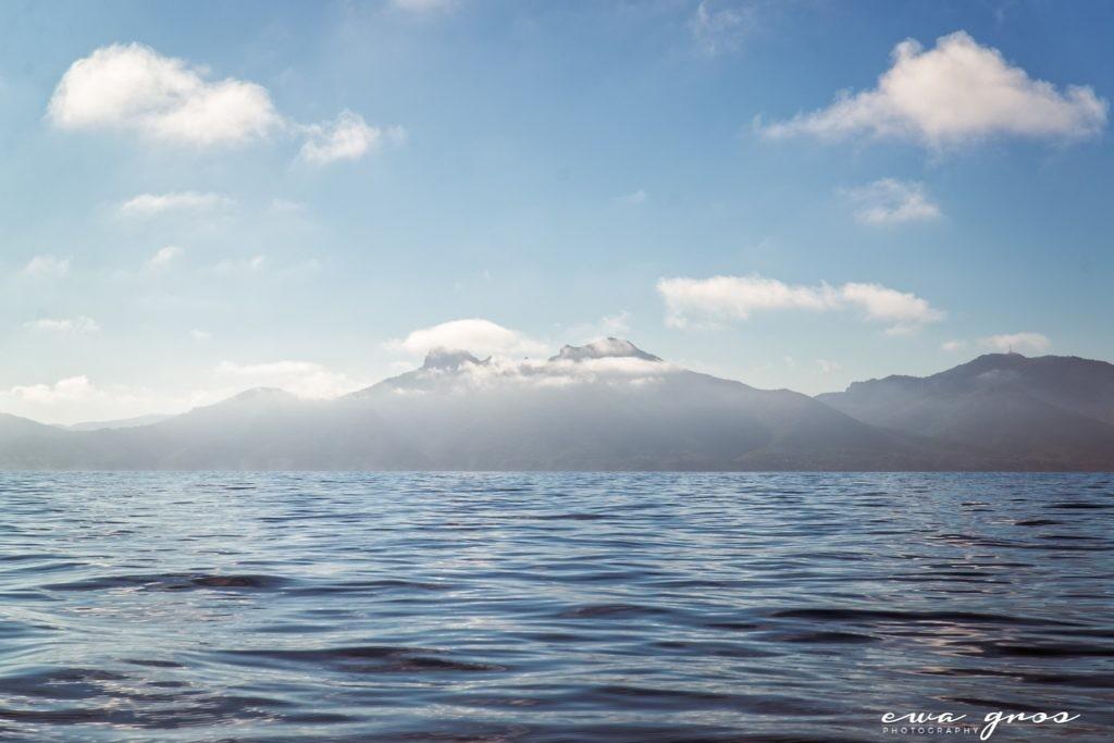 Les nuages bas sur le massif de l'Estérel